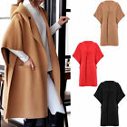 Women Autumn & Winter Outwear Warm Hooded Coat Wool Jacket Parka---Pretty & Soft