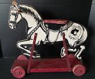 Antique Tom Mix and Tony ride on horse ( made in 1935) RARE