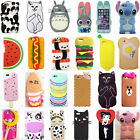 New 3D Cool Cute Fahion Sweet Food Soft Silicone Case For Apple iPhone Varions