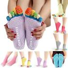 Women Lady Cotton Yoga Gym Toe Non Slip Massage Full Grip Socks Heel