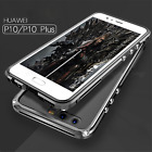 Ginmic CNC Aluminum Frame Clear Back Cover Case for Huawei P10 Shockproof Bumper