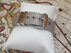 STAINLESS STEEL DIVE SHARK MILANESE MESH BUCKLE 14 18 20 22MM WATCH STRAP  BAND