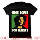 BOB MARLEY ONE LOVE REGGAE PUNK ROCK ALTERNATIVE  MEN'S SIZES  T SHIRT