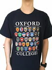 Oxford Colleges T-shirt - Navy Blue - Colleges of Oxford, England