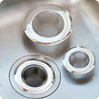 New Home KITCHEN SINK DRAIN STRAINER Stainless Steel Mesh Food #S Filter Catcher
