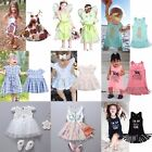 Toddler Kids Baby Girl Clothes Summer Dress Birthday Party Pageant Wedding Dress