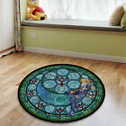 Legend of Zelda Glass Circle Velboa Floor Rug Carpet Room Doormat Non-slip Mat B