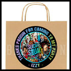 Suicide Squad Movie Birthday Party Bag STICKERS Personalized Labels by the sheet