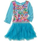 Shopkins Girls' Poly Jersey Dress with Sublimated Front