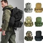 50L Outdoor Hiking Durable Bag Camping Travel Waterproof Mountaineering Backpack