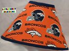 NFL DENVER BRONCOS Lamp Shade Made by LBC SHIPS WITHIN 24 TO 48 HOURS