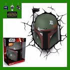 3D FX LED WALL DECO LIGHT - STAR WARS BOBA FETT HELMET WITH CRACK STICKER - NEW $45.0 USD on eBay