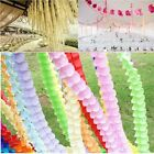 Hot Beautiful Four-Leaf Clover Wedding Party Decor Paper Garland Paper Flower