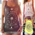 Women Summer Vest Top Sleeveless Fashion Blouse Casual Tank Tops T-Shirt NEW