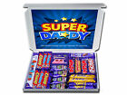 ANY OCCASION SUPER DADDY Personalised Dads Gift Hamper Chocolate or Retro Sweets