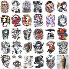 1 Sheet Large Temporary Tattoo Arm Chest Body Art Fake Tattoo Sticker Waterproof $1.29 USD