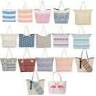 Stunning Selection of Canvas Beach Bags With Rope Handles Pick Your Favourite!