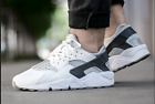 Nike Air Huarache White Wolf Grey Mens Size 9 318429 103