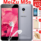 """Meizu M5S 4G LTE MTK6753 Octa Core 3GB 32GB 5.2""""HD 1280x720 13.0MP Quick Charge"""