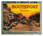 Vintage Railway POSTERS: SOUTHPORT FOR MILD WINTERS :  A2 & A3 (218)