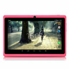 """iRULU 7"""" IPS Android 5.1 Tablet PC Quad Core 1.3GHZ 16GB BT w/ 8/16/32GB TF Card"""