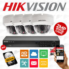 4x HIKVISION FULL 1080P HD 2MP Outdoor IP PoE Camera & 8CH NVR CCTV System Kit