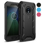 Poetic Revolution Rugged Case 【Built-In Screen】 For Moto G5 Plus 3 Color