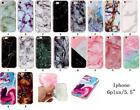 Ultra Slim Light Soft GEL Creative Marble Patterned Phone Case for iPhone 6/6S
