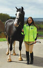 Rhinegold Delaware Waterproof Horse Riding Jacket | Hi Viz Yellow | All Sizes |