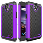 For ZTE Maven 3 Z835 Hybrid Shockproof Rubber Armor Hard Impact Phone Case Cover