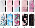 Creative Flower Design Card Slot Flip Stand New Wallet Case For Huawei P10 Lite