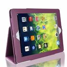 "For Apple IPad 9.7"" 2017 Deluxe Magnetic Leather Folding Folio Smart Case Cover"