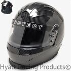 Pyrotect Pro Sport Auto Racing Helmet SA2015 - Large / Carbon Fiber Graphic