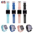 Replacement Soft Silicone Band Strap Bracelet Wrist Band for Fitbit Blaze Watch