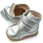 NEW Toddler Boots girls silver child baby kids appx 1-3yrs walker winter shoes