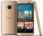 HTC One M9 Sprint Factory Unlocked 4G LTE Smartphone 20MP Gray/Gold 32GB USA