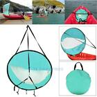 42 Kayak Wind Paddle Sailing Popup Board Sail Rowing Downwind Boat Clear Window