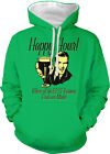 Happy Hour Where All The Best Business Deals Are Made Two Tone Hoodie Sweatshirt