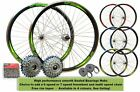 "700c Hybrid 29"" 29er MTB Bike Front Rear Wheel Set 6/7 Speed Solid Bolted Axle"
