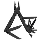Multi Tool SOG PowerAssist B66NCP 16 Tools Black Oxide Nylon Sheath Powerlock