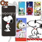 SNOOPY Cover for Samsung Galaxy S8, Peanuts Design Painted Case WeirdLand