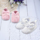 Newborn to 12M Infants Baby Crib Shoes Girl Soft Shoes Prewalker Sole Shoes