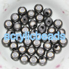 4-20MM Acrylic Miracle Round Spacer Beads 3D illusion Plastic  Beads DIY Necklac