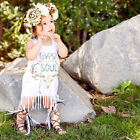 Infant Kids Baby Girls Summer Sleeveless Tassel Dress Princess Party Dress