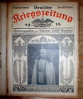 30 # Jun-Dec 1915 Berlin GERMANY illustrated  WW I newspapers GERMAN WAR NEWS