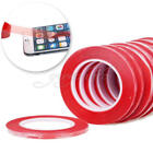 25M 3mm Red Adhesive Double Side Tape Strong Sticky For Cell Phone Repair