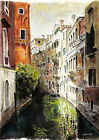 'Venice' A4 A3 or A2 Art print of Italy Italian watercolour painting RussellArt