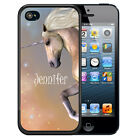 PERSONALIZED CASE FOR iPHONE 7 6S 6 5S 5 SE PLUS WHITE UNICORN MYSTICAL