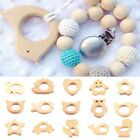 Hot 1PC Wooden Teether Nature Baby Teething Toy Organic Eco-friendly Wood Gift
