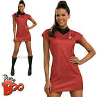 Uhura Ladies Star Trek Fancy Dress Adult Sci Fi Movie Uniform Womens Costume New on eBay